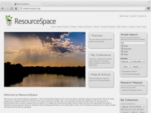 ResourceSpace Digital Asset Management System