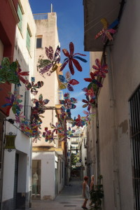 Blanes Street Decorated