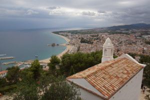 Blanes View from Hill